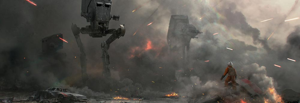 Superb Sci-Fi & Star Wars Art by Eric Persson