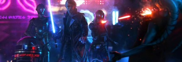 The Cyberpunk Sci-Fi Art of Jeronimo Gomez