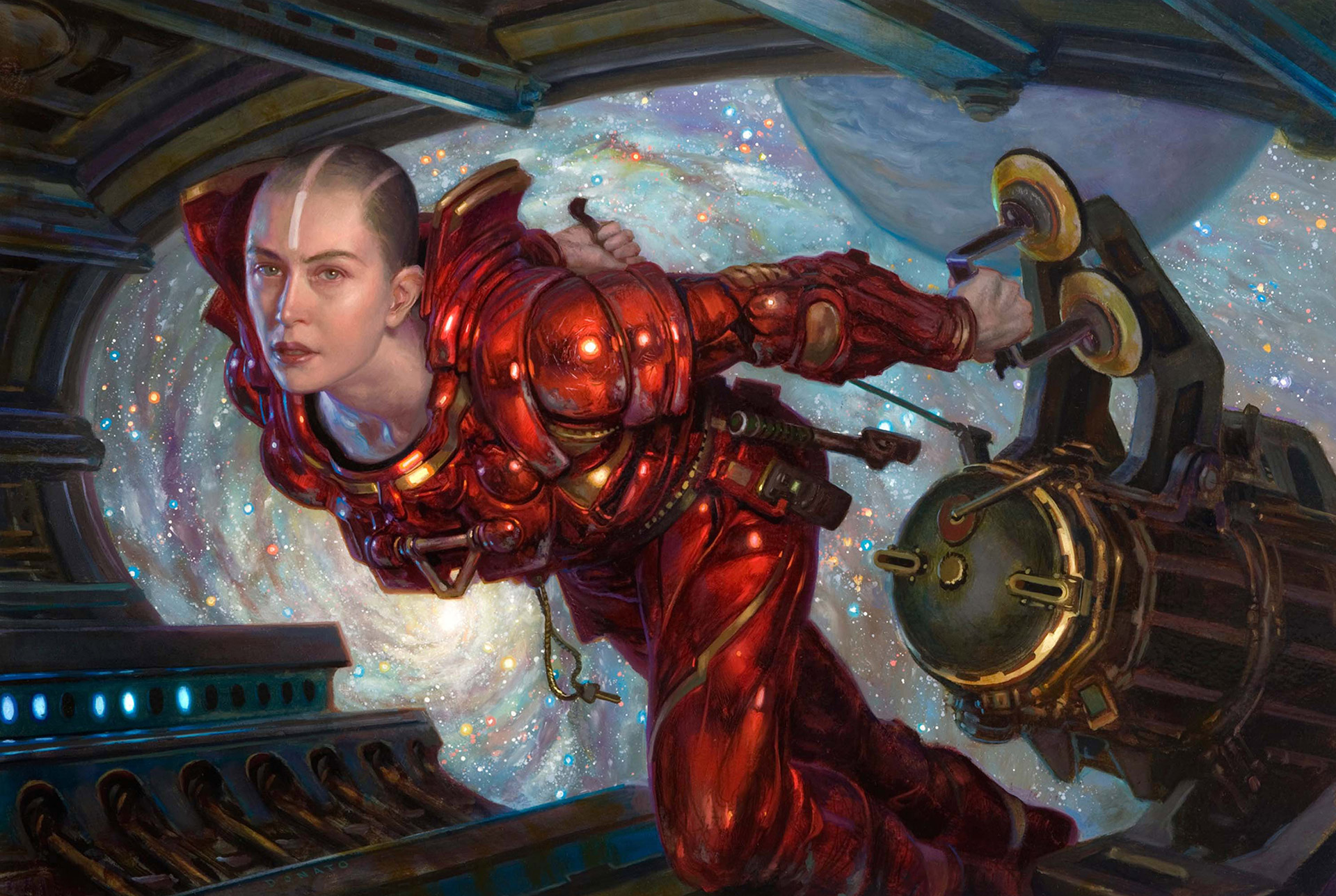 The Sci-Fi & Fantasy Paintings of Donato Giancola