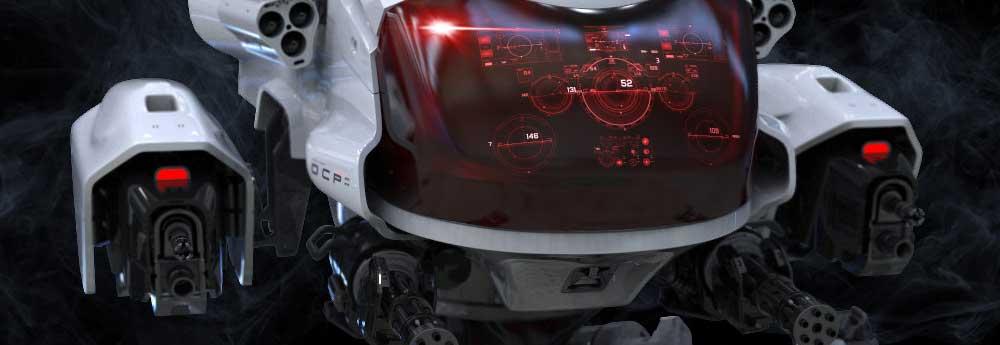 The Futuristic 3d Tech Art of Amin Akhshi