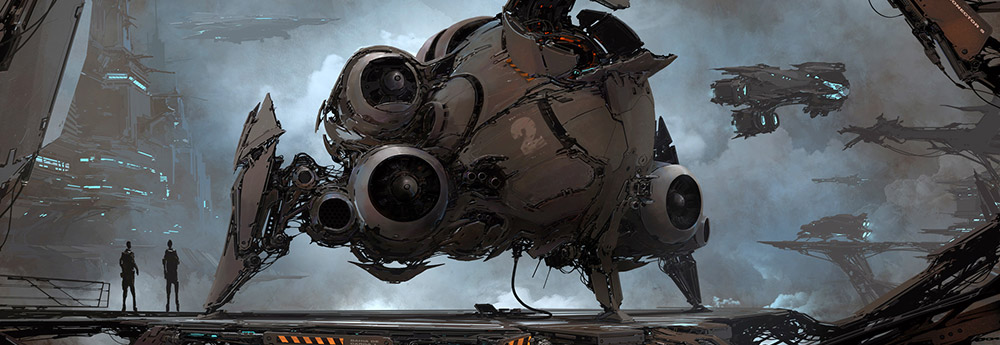 The Amazing Sci-Fi Artworks of Alejandro Burdisio