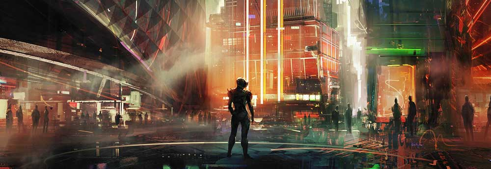 The Stunning Sci-Fi Art of Amir Zand