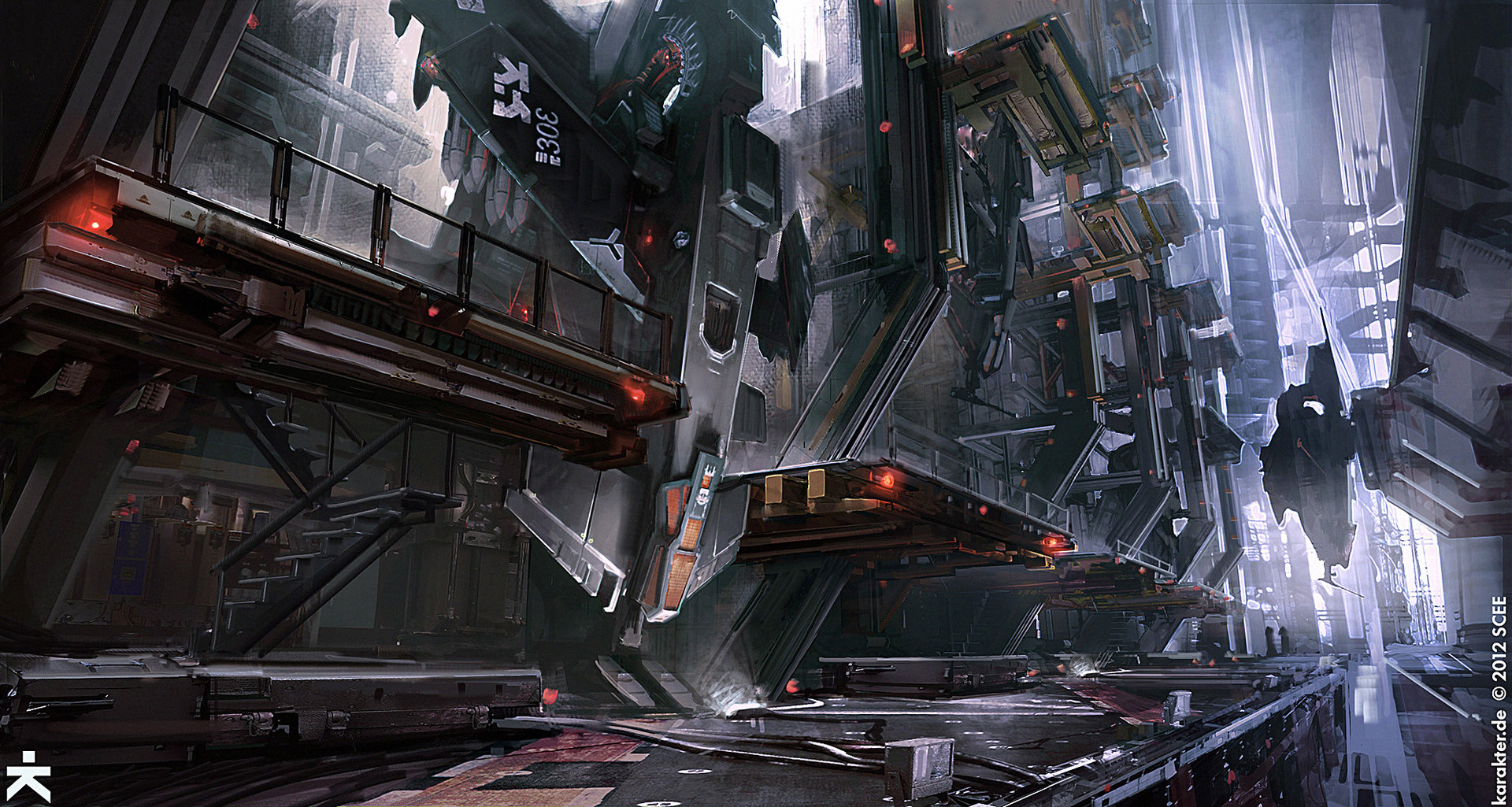 The Futuristic & Sci-Fi Artworks of Mike Hill