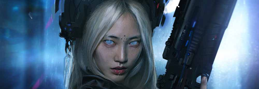 The Sci-Fi & Fantasy Art of Nana Dhebuadze