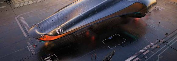 Cool Spaceship Designs by Andrian Luchian