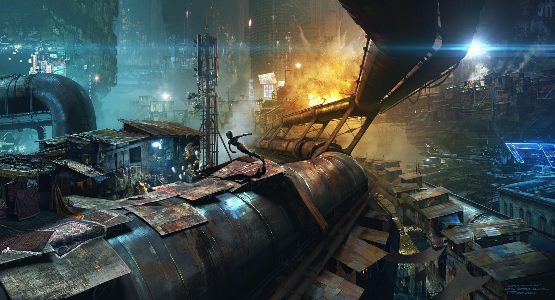 The Sci-Fi Concept Artworks of Jonathan Berube