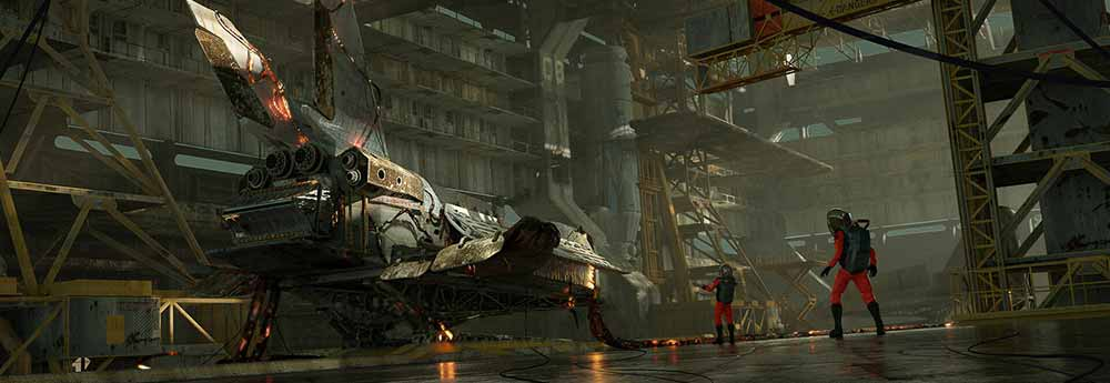 The Science Fiction Artworks of Max Horbatiuk