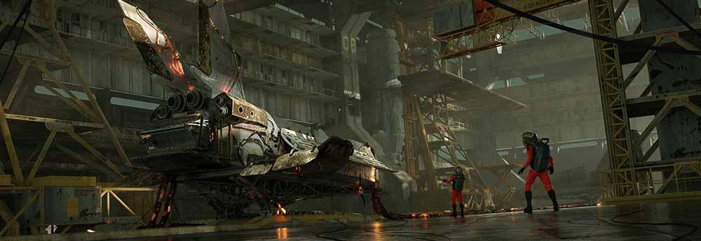 The Science Fiction Artworks of Max Horbatiuk