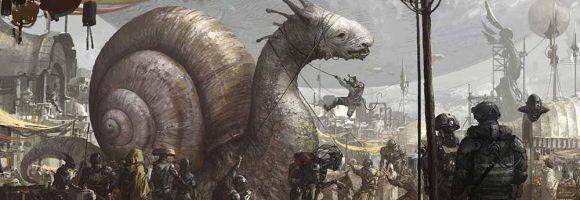 The Sci-Fi & Fantasy Paintings of Su Jian