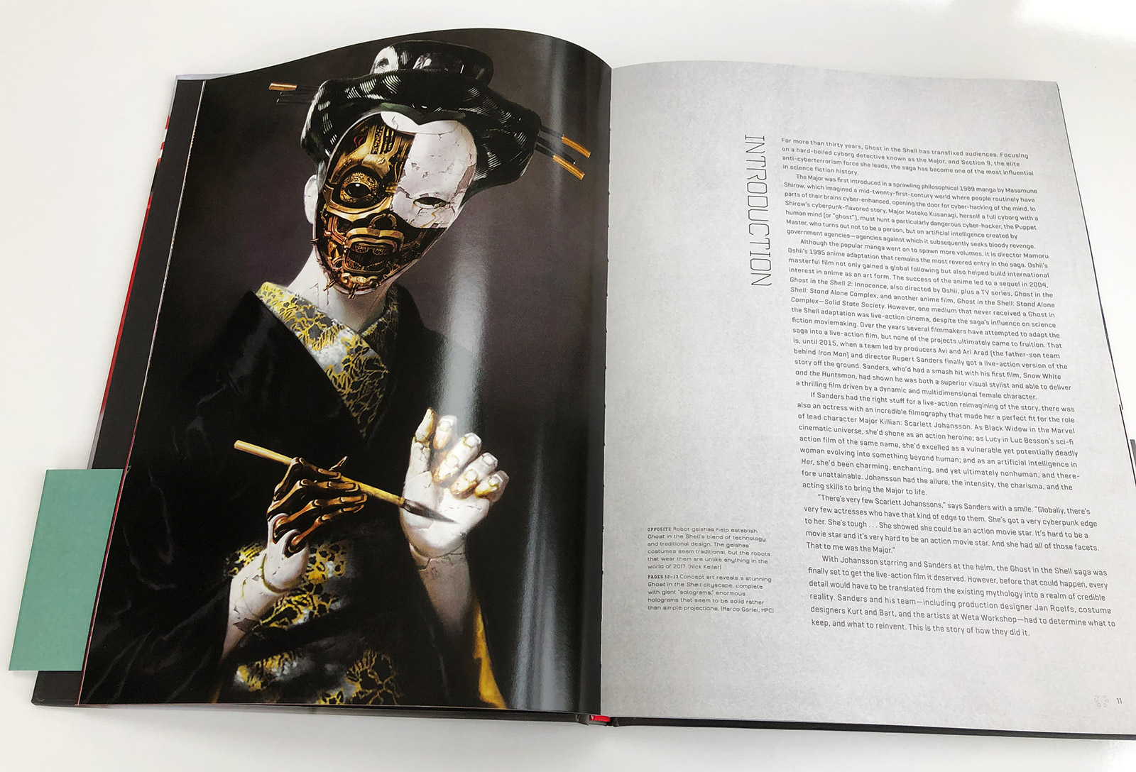 The Art of Ghost in the Shell Book Review
