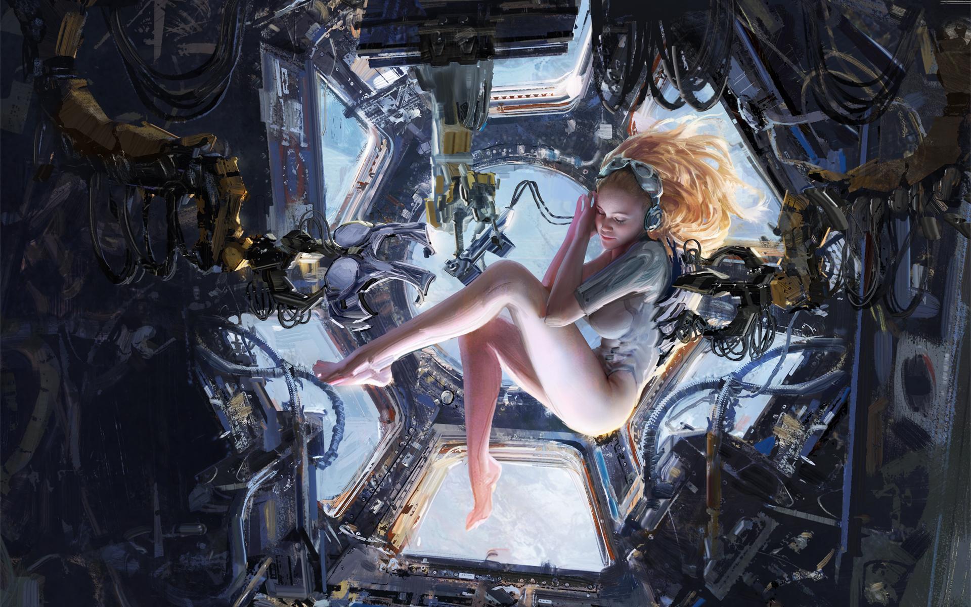 The Sci-Fi & Fantasy Paintings of Wangjie Li