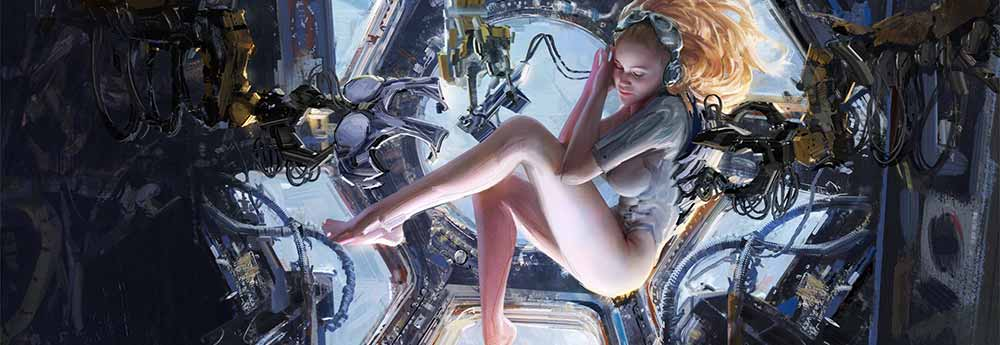 The Sci-Fi & Fantasy Paintings of Wangjie Li