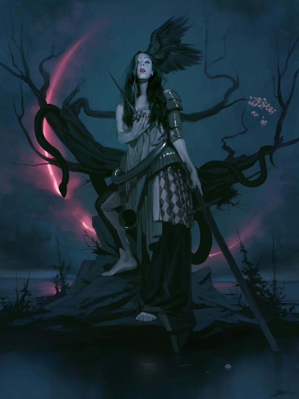 The Fantasy Paintings of Jodie Muir