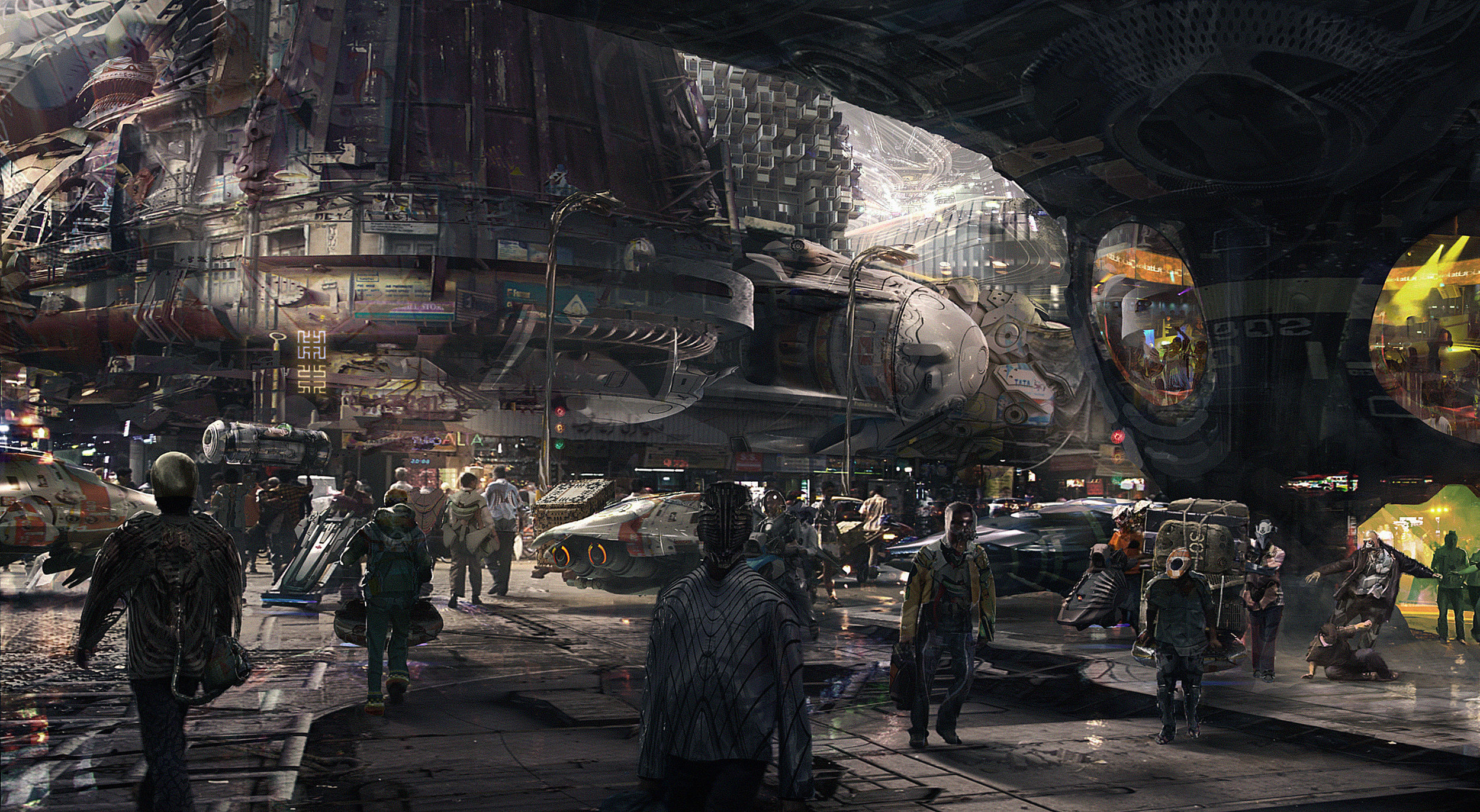 The Sci-Fi Concept Art of Olivier Pron
