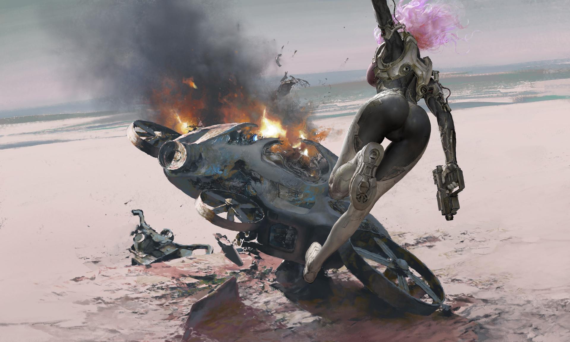The Magnificent Sci-Fi & Fantasy Art of Ruan Jia