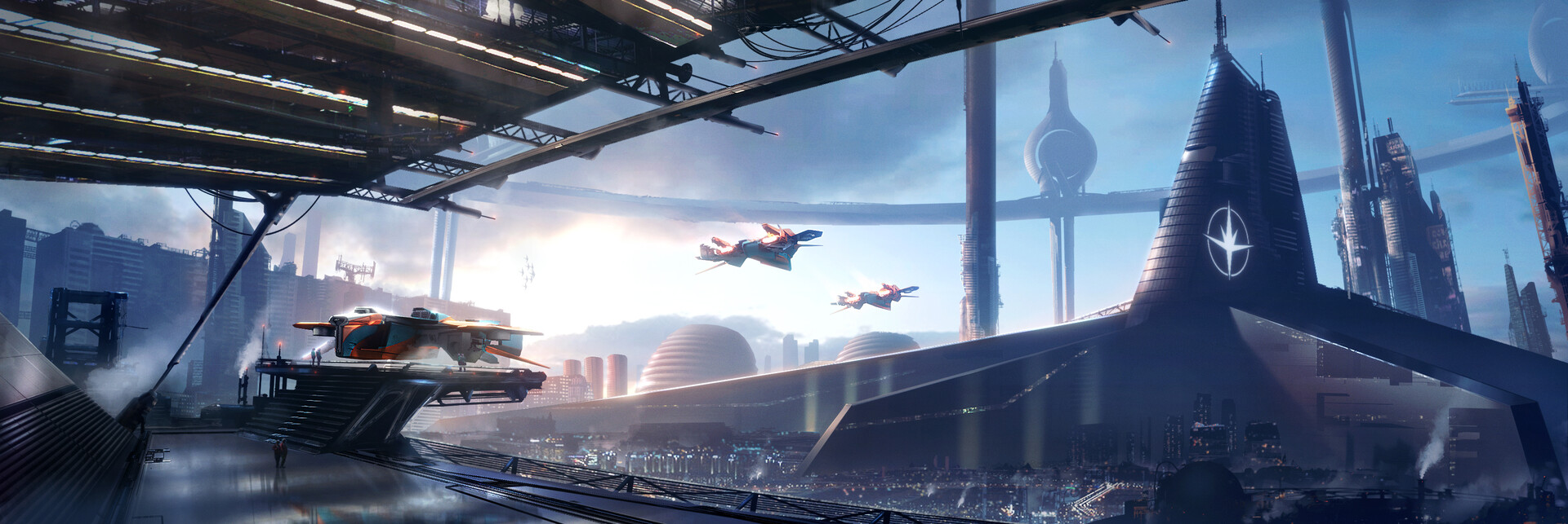 The Science Fiction Art of Quentin Pointillart