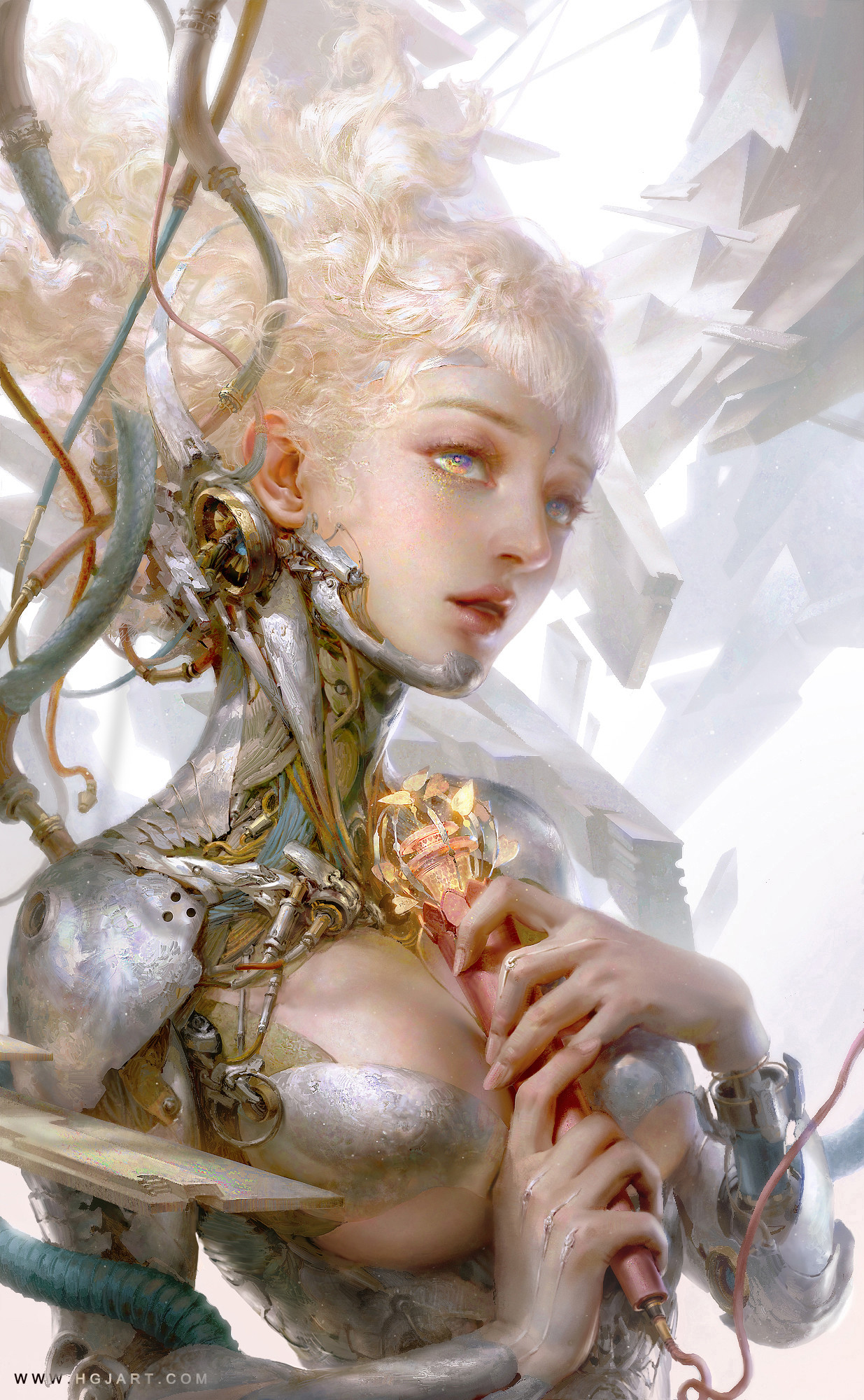 The Gorgeous Fantasy Paintings of Huang Guangjian