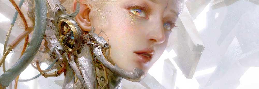 The Gorgeous Fantasy Paintings of Huang Guangjian