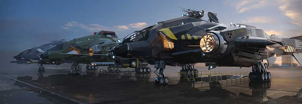 The 3d Sci-Fi Art of Gurmukh Bhasin