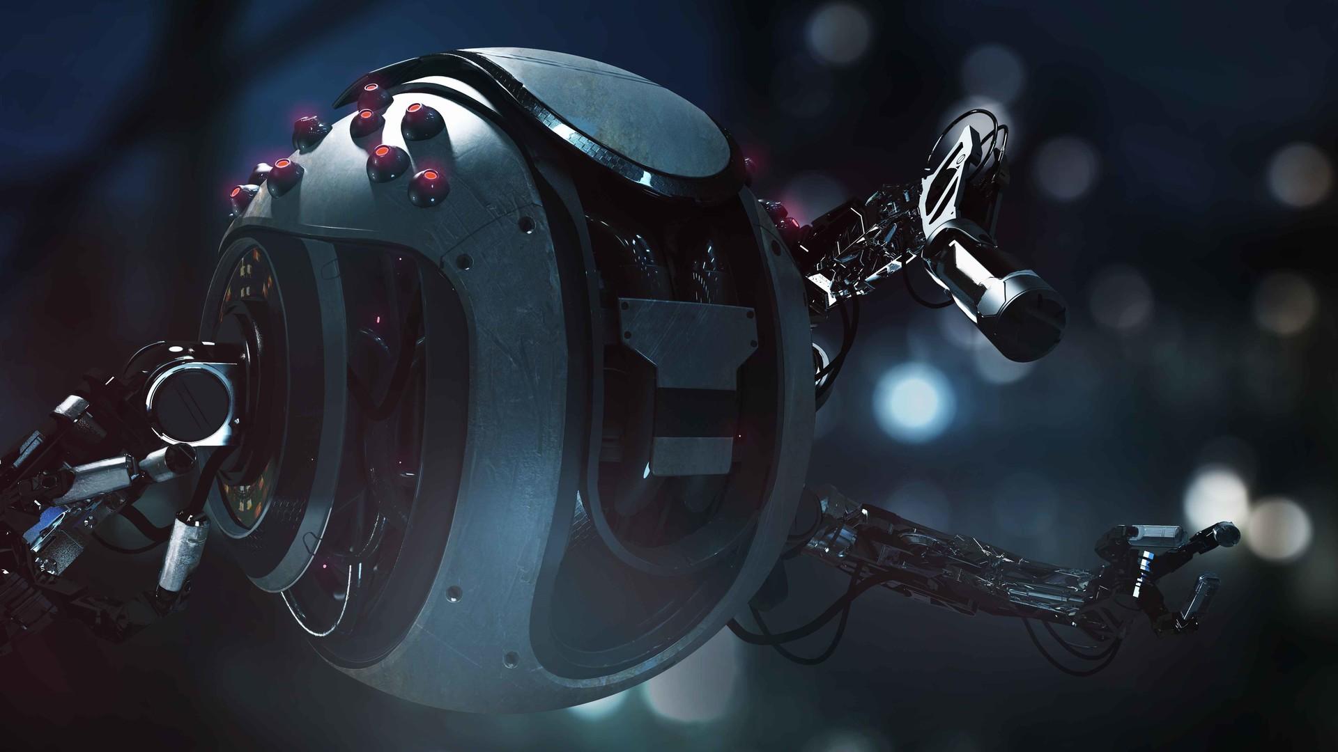 The Digital Sci-Fi Art of Ronan Berlese