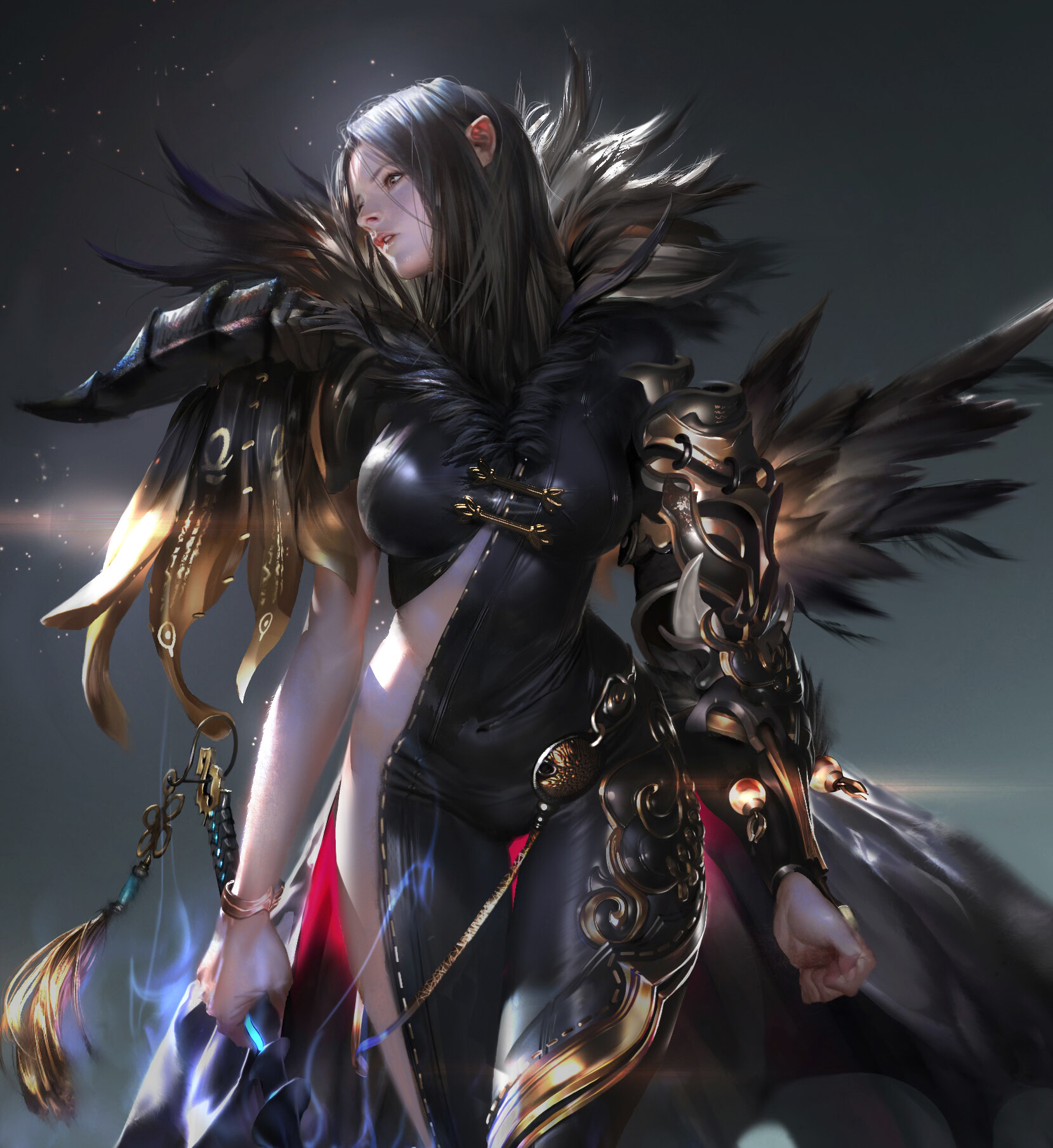 The Digital Fantasy Art of Hyun Suk Lee