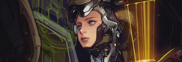 The Beautiful Character Sci-Fi Art of Ssaki Metel