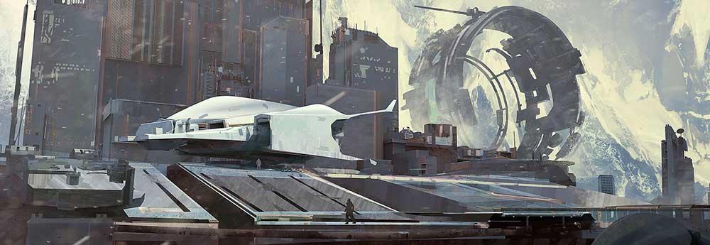 The Science Fiction Art of Bogdan Tufecciu