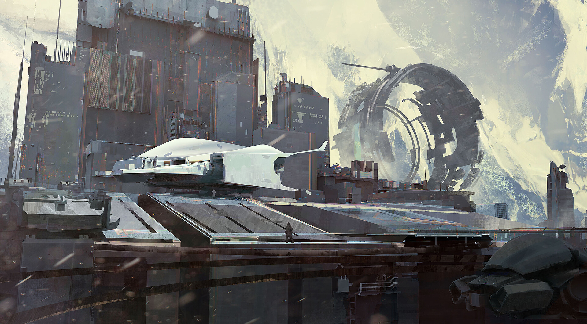 The Science Fiction Art of Bogdan Tufecciu