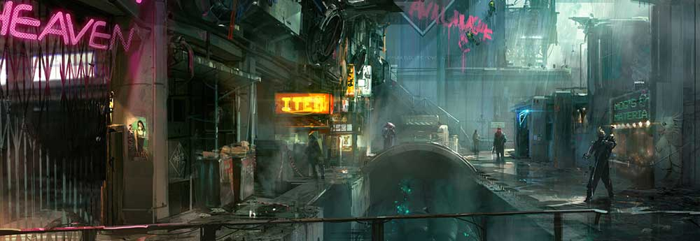 The Science Fiction Art of Chris Goff