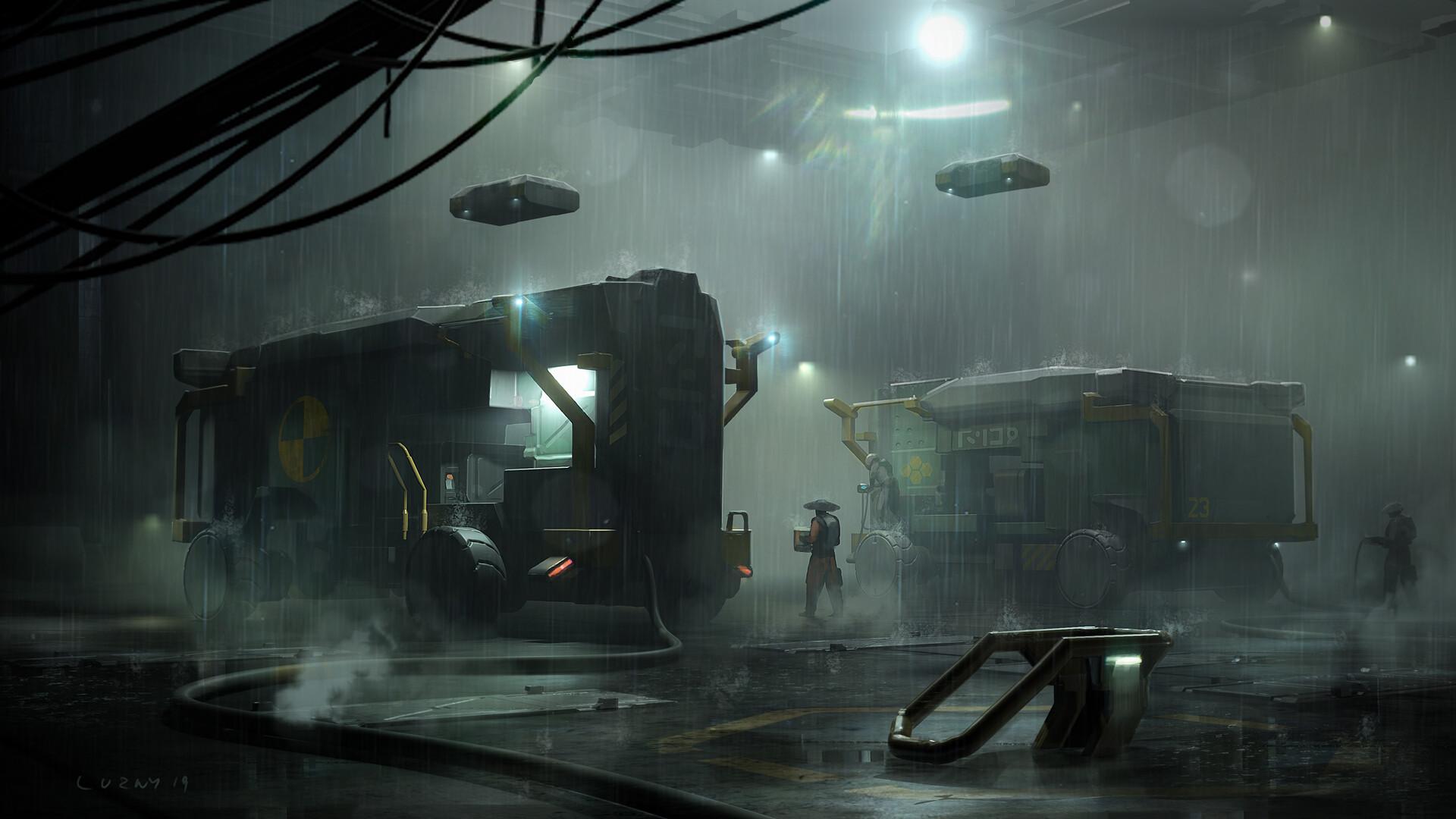The Superb Science Fiction Art of Krzysztof Luzny