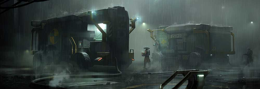The Superb Science Fiction Art of Krzysztof Luzny