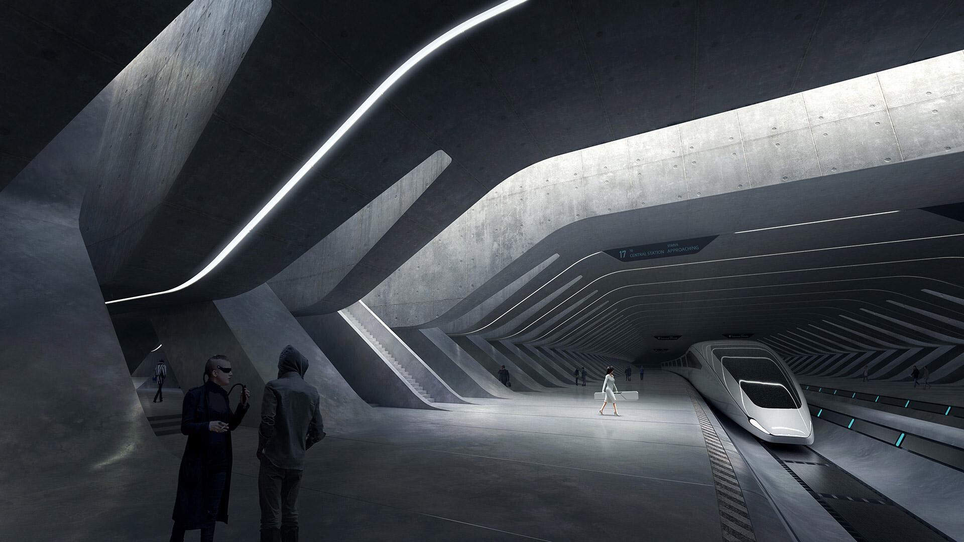 Impressive Sci-Fi Artworks by Tarmo Juhola