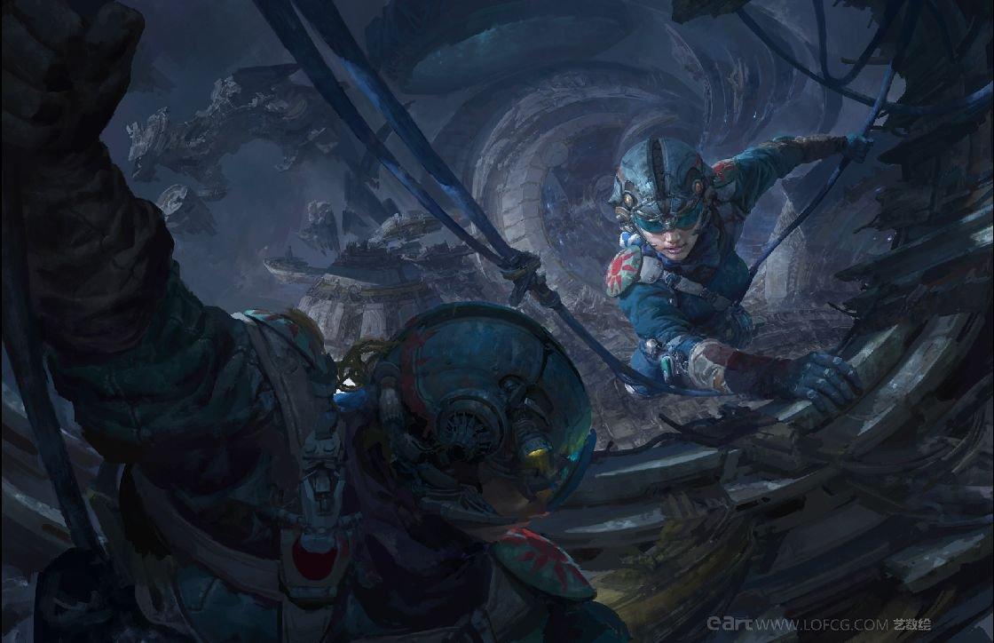 The Glorious Sci-Fi & Fantasy Art of Fenghua Zhong
