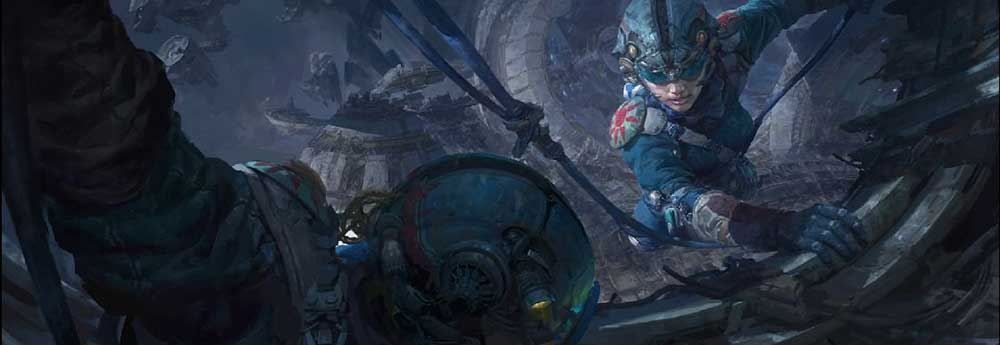 The Glorious Sci-Fi & Fantasy Art of Fenghua Zhong