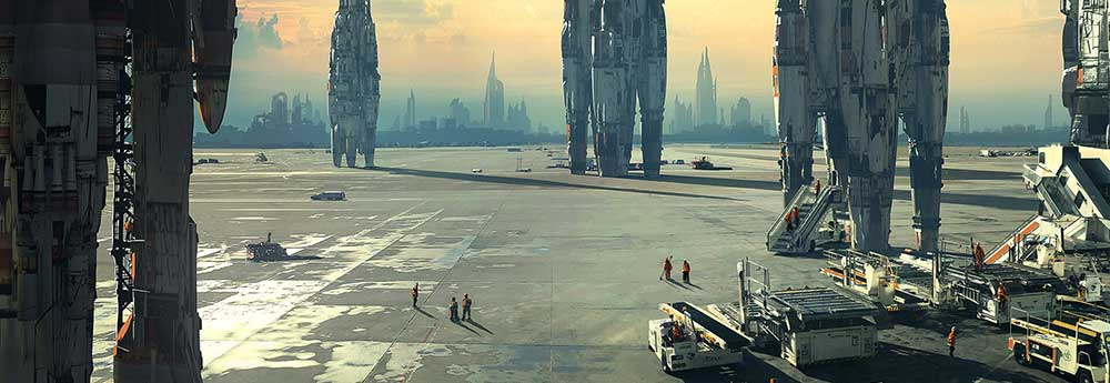 The Science Fiction Art of Raphael Lacoste