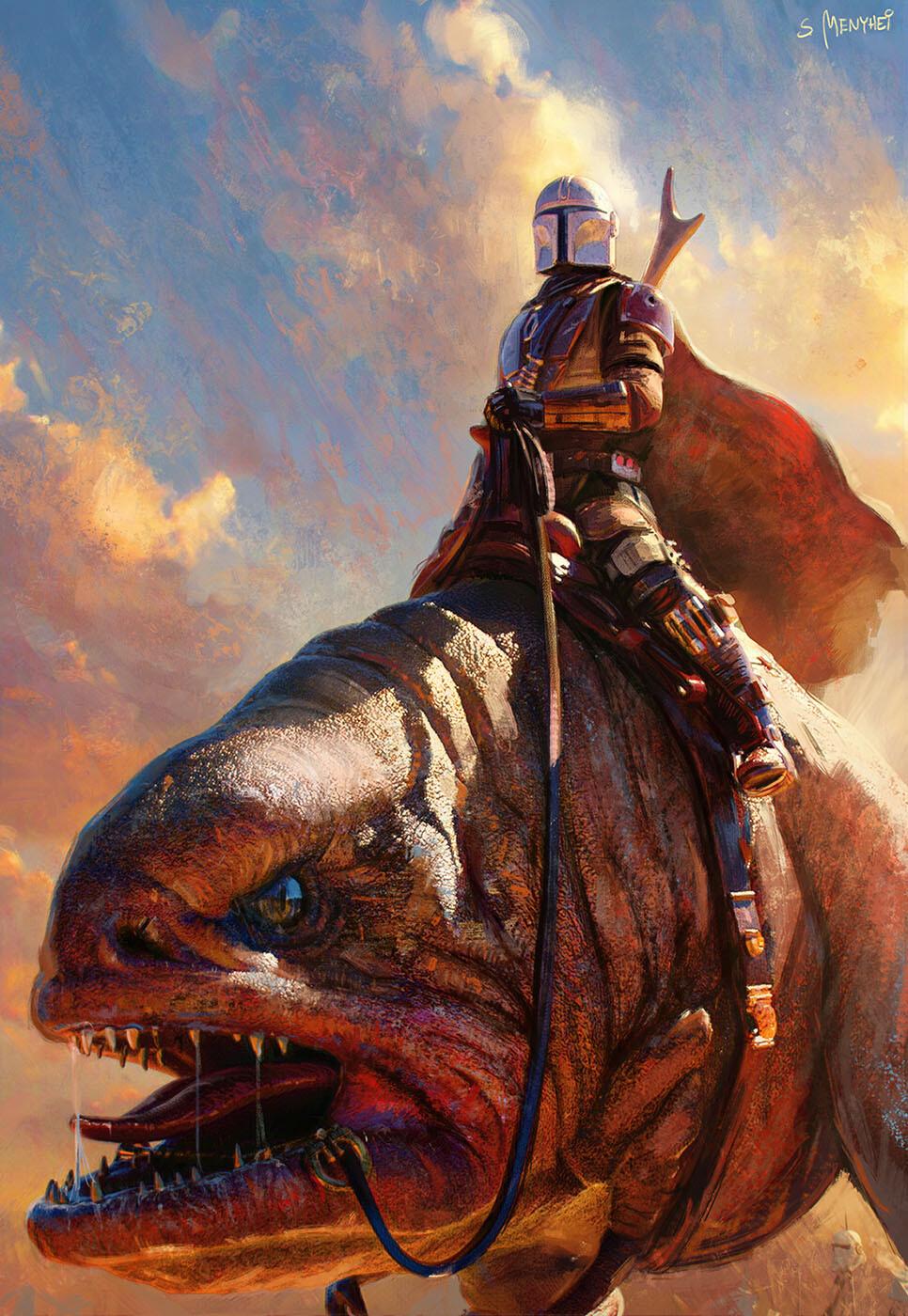 The Digital Sci-Fi & Fantasy Art of Saby Menyhei