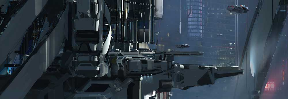 The Superb Sci-Fi Art of Wadim Kashin