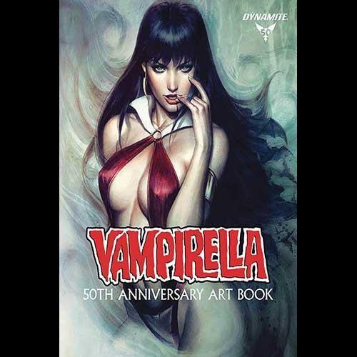 Vampirella 50th Anniversary Artbook Feature