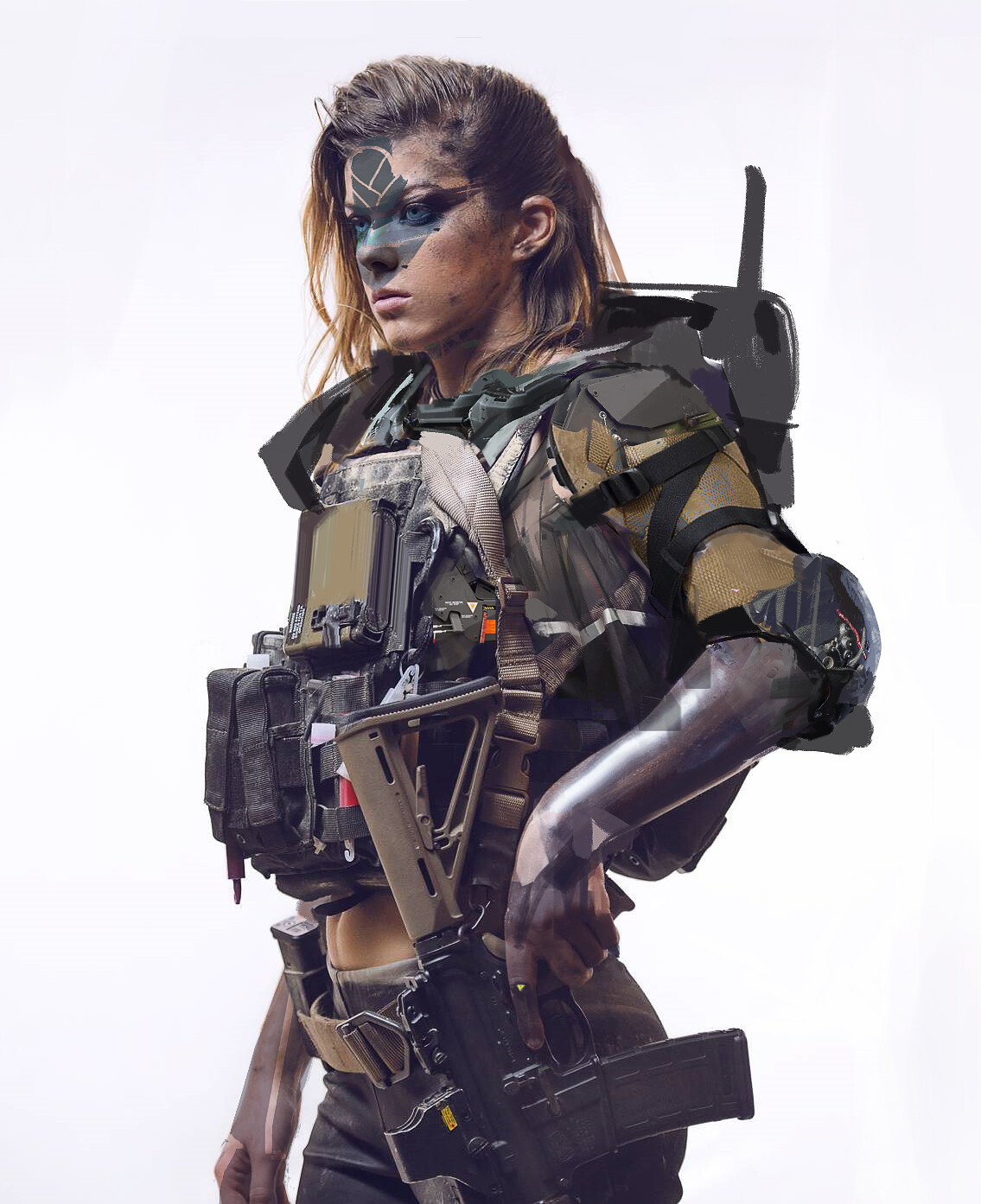 The Cool Sci-Fi Photo Sketches of Minovo Wang