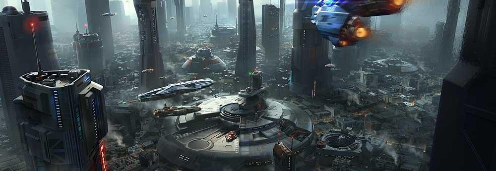 The Futuristic Sci-Fi Art of Alex Ichim