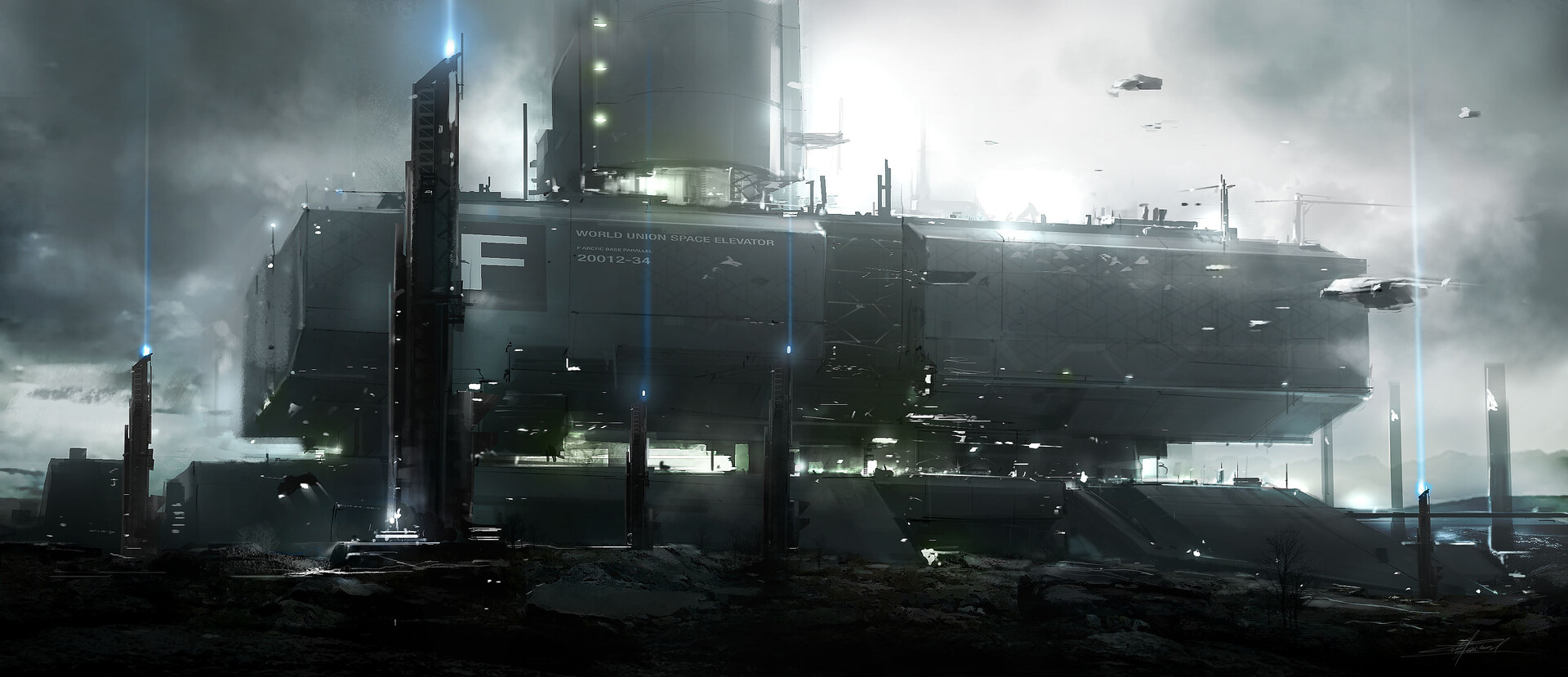 The Superb Sci-Fi Concept Art of Eric Gagnon