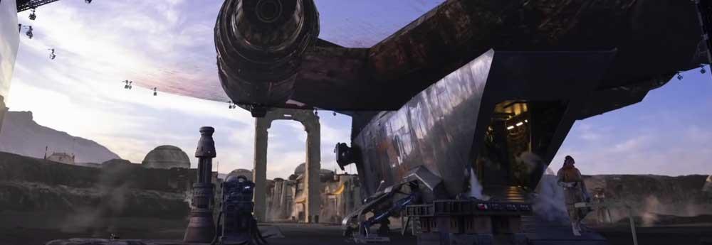 Behind The Scenes Mandalorian VFX  Video