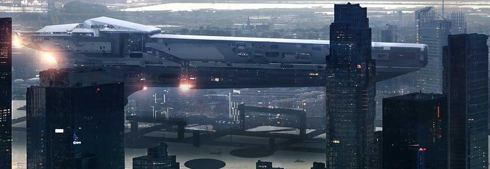 The Science Fiction Art of Jon Dunham