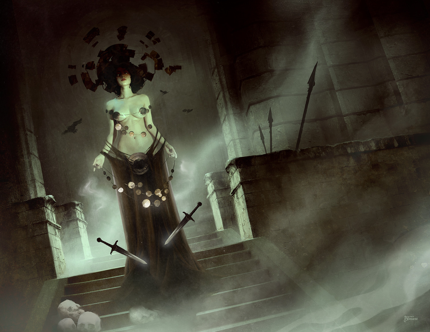 The Fantasy Artworks of Bastien Lecouffe Deharme