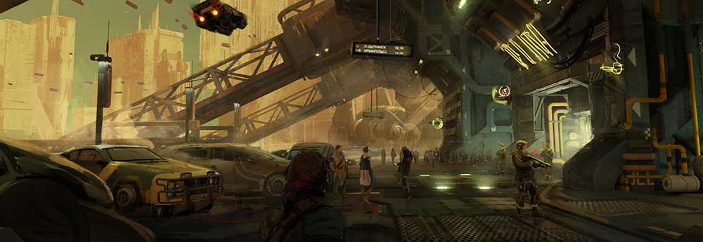The Sci-Fi Art of Marat Zakirov