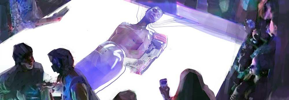 The Digital Sci-Fi Sketch Art of Yi Liu