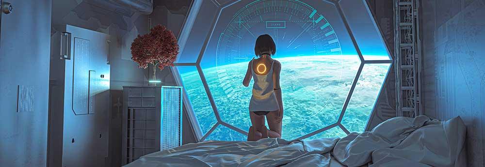 The Digital Sci-Fi Artworks of Darius Bartsy
