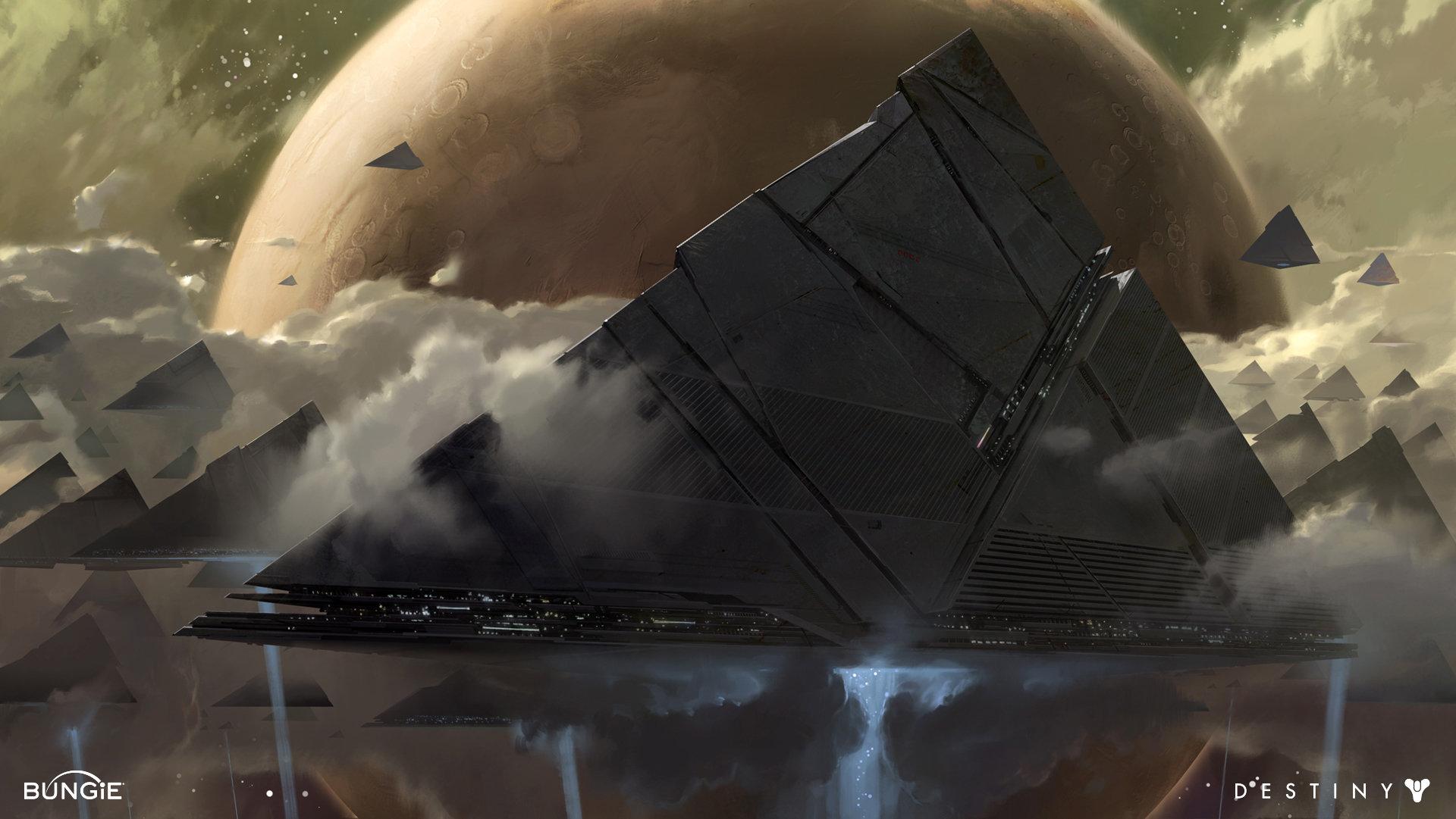 The Sci-Fi Concept Artworks of Dorje Bellbrook