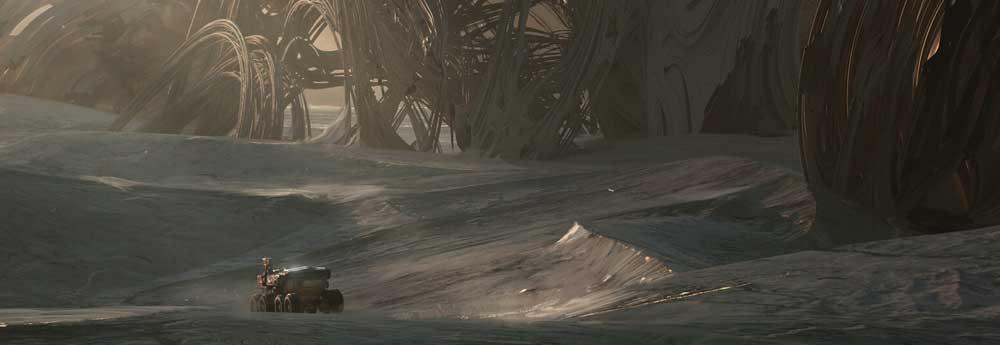 The Atmospheric Sci-Fi Art of Eren Arik