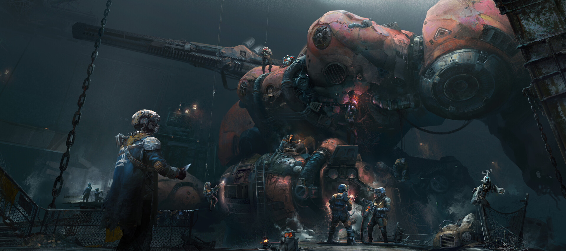 The Science Fiction Art of Zhu Liu